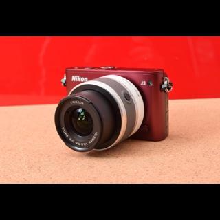 ニコン(Nikon)のNikon 1 ニコン J3 レンズキット!選べるバック 12-3(ミラーレス一眼)