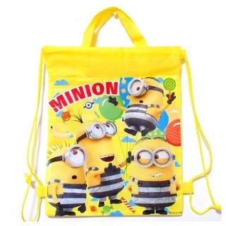 ミニオン(ミニオン)の新品*ミニオン ナップサック 手提げバッグ 2way  黄色(トートバッグ)
