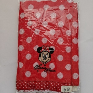 ディズニー(Disney)のミニーマウス フェイスタオル(タオル)
