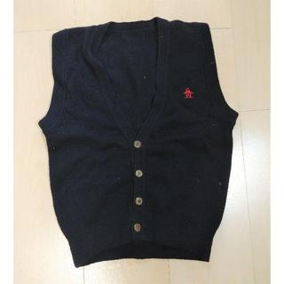 マンシングウェア(Munsingwear)のayane7711様専用 マンシングウェア ウールベスト 紺 110~120cm(ニット)