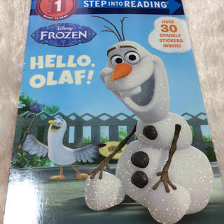 FROZEN HELLO OLAF! 英語の絵本(洋書)