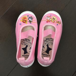 アンパンマン(アンパンマン)のアンパンマン上靴(ピンク)(スクールシューズ/上履き)