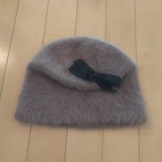 トゥモローランド(TOMORROWLAND)の新品 ラビットファー帽子(ハンチング/ベレー帽)