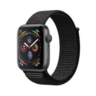 アップルウォッチ(Apple Watch)のApple Watch Series 4 GPSモデル 44mm スポーツループ(その他)