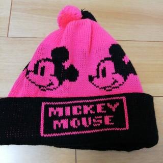 Disney - ミッキーマウス ニット帽 防寒 ディズニーランド ディズニーシー