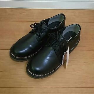 シマムラ(しまむら)のドクターマーチン風厚底3ホールシューズ(ブーツ)