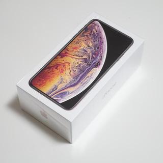 アイフォーン(iPhone)の新品 iPhone XS MAX ゴールド 512GB 香港版[デュアルSIM](スマートフォン本体)