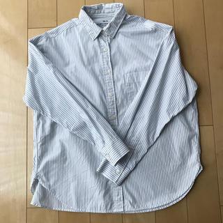 ムジルシリョウヒン(MUJI (無印良品))の無印良品 ストライプ シャツ(シャツ/ブラウス(長袖/七分))