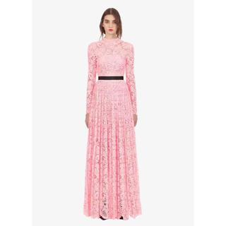 セルフポートレイト(SELF PORTRAIT)の2019新作SelfPortraitセルフポートレート高級刺繍ドレス(ロングドレス)