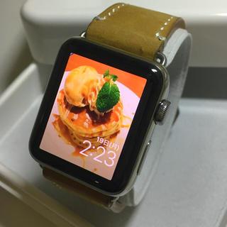 アップルウォッチ(Apple Watch)のApple Watch series3 ステンレス GPS+Cellular(その他)