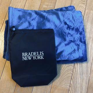 ブラデリスニューヨーク(BRADELIS New York)の紺色☆ブランケット(おくるみ/ブランケット)