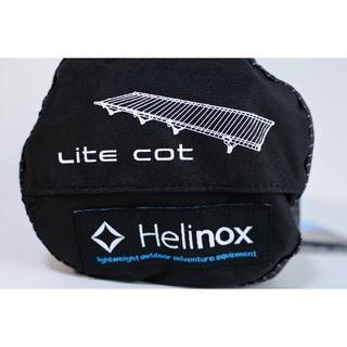 ★ ヘリノックス ライトコット ブラック 新品(寝袋/寝具)