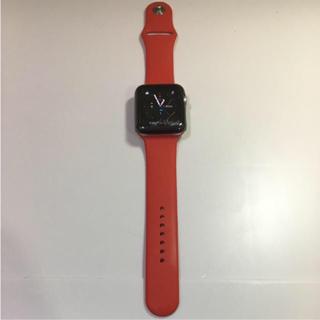 アップルウォッチ(Apple Watch)のApple Watch SPORT 42mm シルバー(その他)