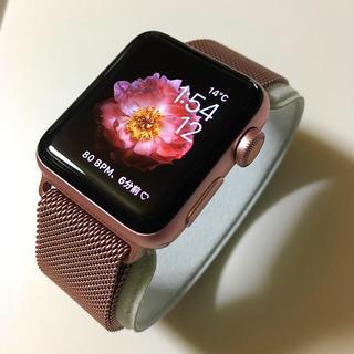 アップルウォッチ(Apple Watch)の人気色 Apple Watch series2  Rose Gold(その他)