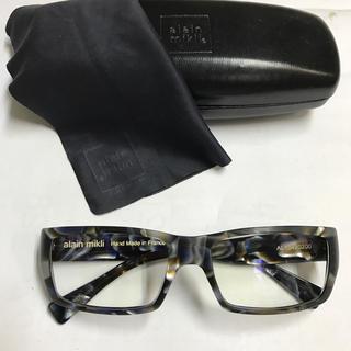 アランミクリ(alanmikli)のalan mikuri. アランミクリ❗️セルフレーム眼鏡.Paris.(サングラス/メガネ)