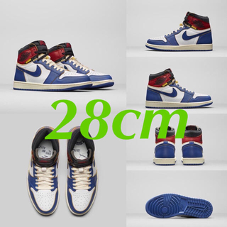 ナイキ(NIKE)のAIR JORDAN 1 RETRO HI NRG / UNION(スニーカー)