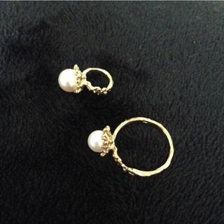 カオル(KAORU)のカオル♡パールリングとペンダントトップ2点セット  (リング(指輪))