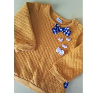 ビケット(Biquette)のビケット   女の子   やわらかトレーナー   サイズ90(Tシャツ/カットソー)