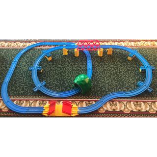 トミー(TOMMY)の【専用出品】プラレール 橋脚レイアウト 鉄橋 はね橋 +ニュー坂∞レイアウト(鉄道模型)