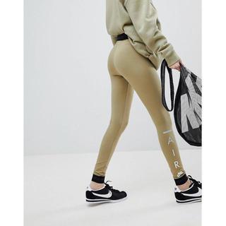 ナイキ(NIKE)の【 Lサイズ】新品タグ付き Nike  Air ロゴレギンス ナイキ オリーブ(レギンス/スパッツ)