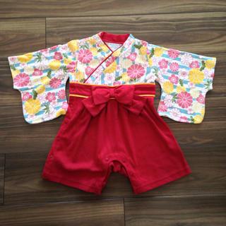 ヒロミチナカノ(HIROMICHI NAKANO)の袴ロンパース 80 ヒロミチナカノ(和服/着物)