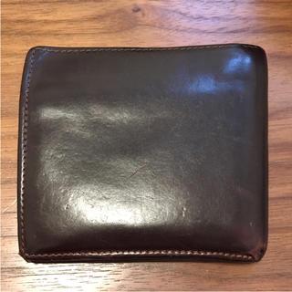 ホワイトハウスコックス(WHITEHOUSE COX)のホワイトハウスコックス ブラウン 二つ折り財布(折り財布)