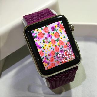 アップルウォッチ(Apple Watch)のApple Watch  42mm(その他)