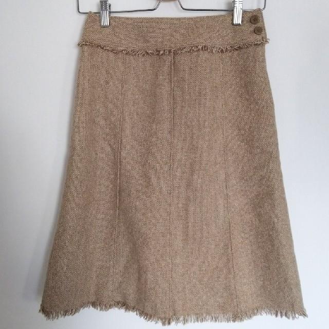 marble ink(マーブルインク)のmarble ink ツイードスカート 試着のみ 最終値下げ レディースのスカート(ひざ丈スカート)の商品写真