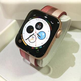 アップルウォッチ(Apple Watch)のほぼ未使用 最新モデル Apple Watch series4(その他)
