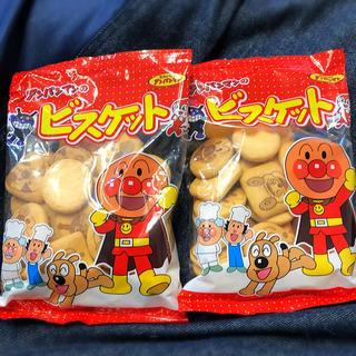 アンパンマン(アンパンマン)の値下げ!アンパンマンのビスケット 2袋(菓子/デザート)