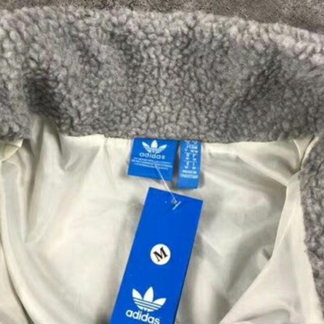 adidas(アディダス)の新品 タグ付き アディダス オリジナルス ボアフリースジャケット レディースのトップス(パーカー)の商品写真