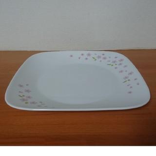 コレール(CORELLE)のコレールスクエア大皿1枚(同時購入で粗品進呈中)(食器)