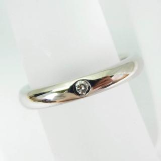 ティファニー(Tiffany & Co.)のティファニー PT950 バンド ダイヤリング 4.5号[f337-10](リング(指輪))