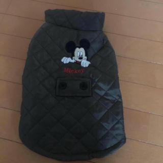 ディズニー(Disney)のお値下げ❗️新品☆Mickeyのダウンジャケット・犬服(ペット服/アクセサリー)