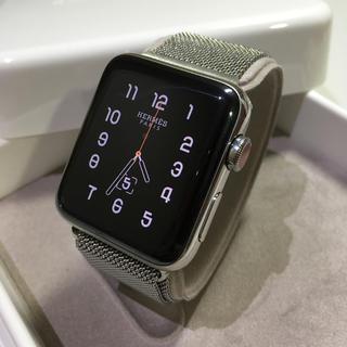 アップルウォッチ(Apple Watch)のApple Watch HERMES  series3  42mm(その他)