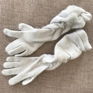 ザラ(ZARA)の【送料込み】モヘア混 手袋(手袋)