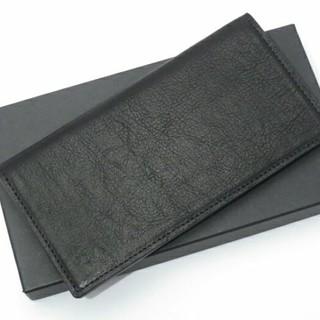 パトリックステファン(PATRICK STEPHAN)のパトリックステファン カードケース 未使用品 カウハイドブラック定価13000円(名刺入れ/定期入れ)