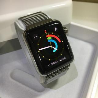 アップルウォッチ(Apple Watch)のApple Watch series2 ステンレスモデル(その他)