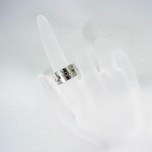 b49ee66a8242 Gucci - グッチWG ワイドアイコンブラックダイヤ リング 8.5号[f337-7]の ...