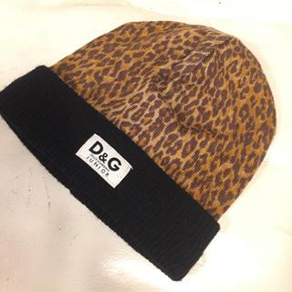 ドルチェアンドガッバーナ(DOLCE&GABBANA)のニット帽(帽子)