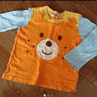 ミキハウス(mikihouse)のミキハウス☆ロンT 長袖Tシャツ 90(Tシャツ/カットソー)