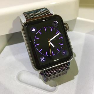 アップルウォッチ(Apple Watch)のApple Watch series2  Stainless Steel(その他)