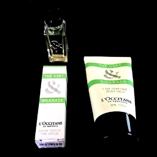 ロクシタン(L'OCCITANE)のグリーンティ ボディミルク オードトワレ セット ロクシタン+゚*。(ユニセックス)