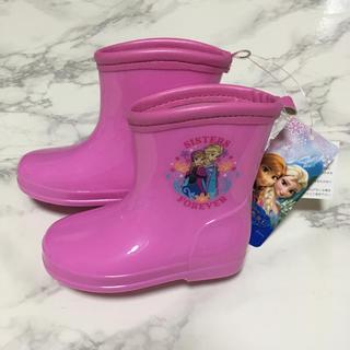 ディズニー(Disney)の即購入OK!新品タグ付き★ディズニー アナ雪 キッズ 長靴 13cm(長靴/レインシューズ)