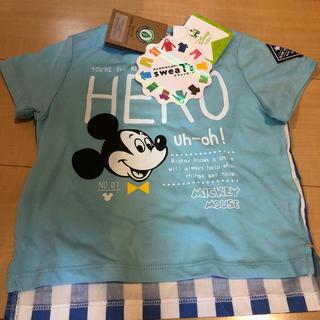 シマムラ(しまむら)の《新品》ミッキー 子供服(Tシャツ)