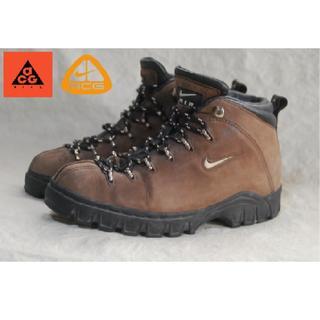 ナイキ(NIKE)の25c ACG nike トレッキングブーツ/1998 Gimli Shoes(ブーツ)