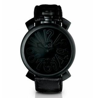 GaGa MILANO ガガミラノ 腕時計 男女兼用 クォツ(レザーベルト)