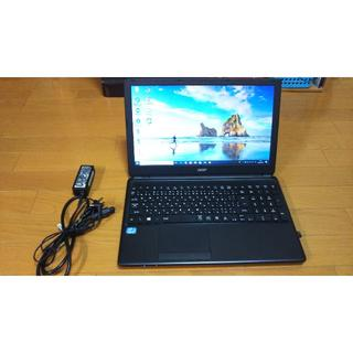 エイサー(Acer)の「jmさん専用」Acer E1-570-F34D 美品 Office(ノートPC)