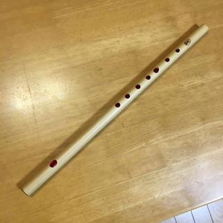篠笛  八笨調子七孔  唄用(ドレミ調)  素竹(横笛)