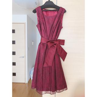 パウダーシュガー(POWDER SUGAR)のバウダーシュガー エイミーパール ドレス(ひざ丈ワンピース)